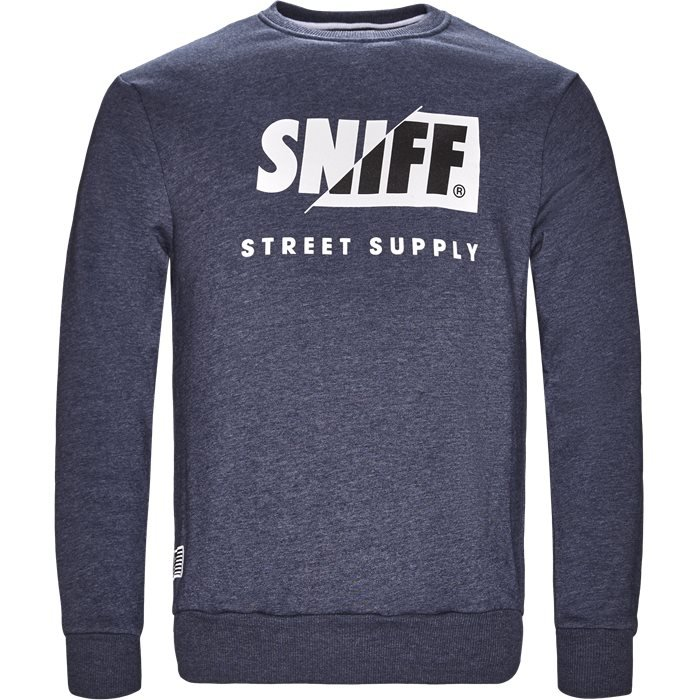 Sweatshirts - Regular - Denim